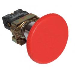 Przycisk awaryjny grzybkowy czerwony 1xNC 3A NYGBR42P TRACON
