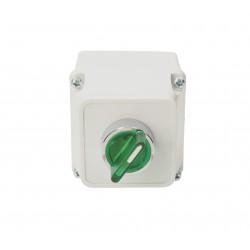 Przycisk z obudową podświetlany zilony 1NO NYGBW33ZT TRACON