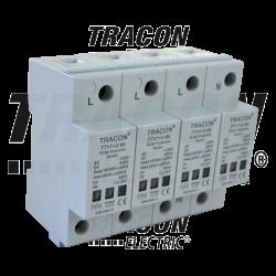 Ogranicznik przepięć AC/DC 1+2 zwarty TTV1+2-80-4 TRACON