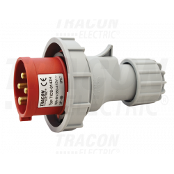 Wtyczka siłowa IP67 16A 400V 3P+E TICS-0142 Tracon