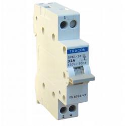 Przełącznik wyboru sieć-agregat 1P 32A SVK1-32 TRACON