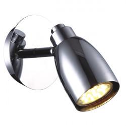 Kinkiet PICARDO K-8007W-1 CHR LED 3W GU10 Kaja
