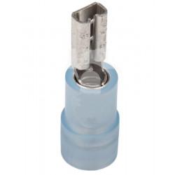 Końcówka kabla męska z izolacją ZSY 6.3-2.5 mm opakowanie 100 sztuk ERGOM