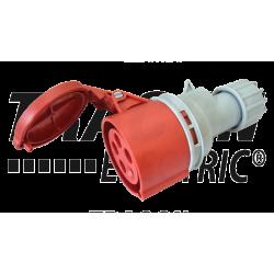 Gniazdo siłowe IP67 32A 400V 3P+N+E TICS-2252 Tracon
