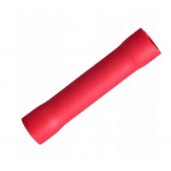 Końcówka gniaziazda miedź cynowa 1,5mm PVC czerwon PHA4 TRACON