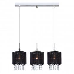 Lampa ASTRA MDM-1953/3BK Black zwis 3xE14 Italux