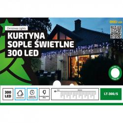 Kurtyna sople LED-300 zimne wyłącznik czasowy 14,5m OKEJ LUX