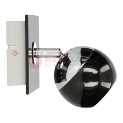 Kinkiet MATT-1R B/CH black-chrome GU10 50W Vitalux
