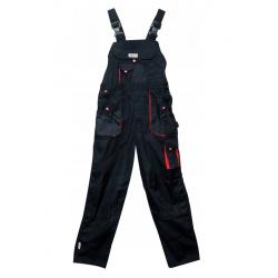 Spodnie robocze ogrodniczki rozmiar M czarne YT-8031 YATO