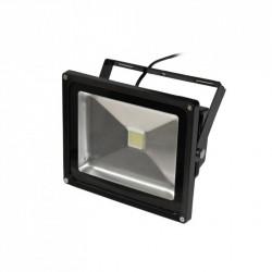 Lampa naświetlacz LED 30W 3000K 230V czarna ART
