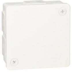 Puszka biała v/t 86x86x40 IP55 guma2 022-01 ViPl