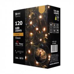 Lampki EMOS świetliki XMAS burs/vint.timer ZY1434T