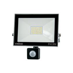 Naświetlacz LED KROMA 30W +PIR 4500K grey 03606