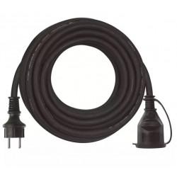 Przedłużacz 1-GN z uuziemieniem 10m OW3x1,5 czarny P01710 EMOS
