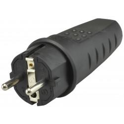 Wtyczka gumowa 16A 250V IP44 LUX PAWBOL
