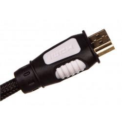 Kabel HDMI A/HDMI A 1,5m oplot nylonowy SL0301 EMOS
