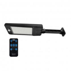 Naświetlacz LED solarny 7W PIR+ pilot CW 315182 POLUX