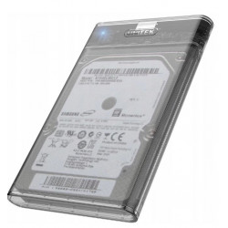 "Obudowa dysku 2,5"" transparentna USB 3.1 UNITEK"