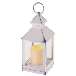 Lampion LED świeczka 24cm 3xAAA ZY2114 biały Emos