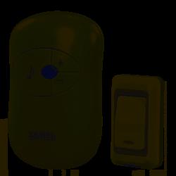 Dzwonek bezprzew. 230V ST-930 DISCO biały Zamel