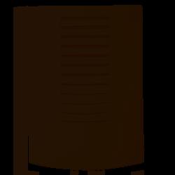 Dzwonek dwutonowy 230V biały DNS-911/N Zamel