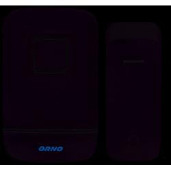 Dzwonek bezprzewodowy 230V KINETIC OR-DB-AV-132 biały Orno