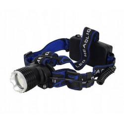 Latarka czołowa 2x18650 TS-1145 LED 10W Tiross
