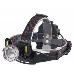 Latarka czołowa 2x18650 TS-1197 LED 10W Tiross