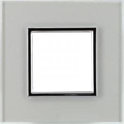 DANTE Ramka 1-krotna szkło przeźroczysta super 4501181 KOS