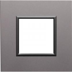 DANTE Ramka 1-krotna aluminium 4542281 KOS