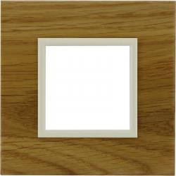 DANTE Ramka 1-krotna drewno 4522381 KOS