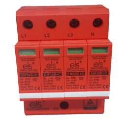 Ogranicznik przepięć B+C 4P 60kA 1,5kV EL30B+C ELS