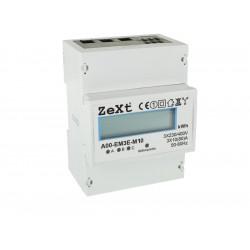 Licznik energii 3-fazowy 10A - LCD ZEXT