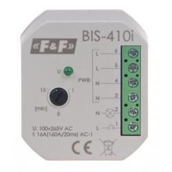 Przekaźnik impulsowy z wyłącznikiem czasowym BIS-410i 230V F&F