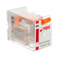 Przekaźnik przemysłowy 4P 6A 24V AC R4N-2014-23-5024-WT RILPOL