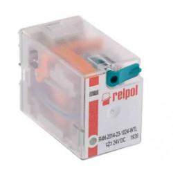 Przekaźnik przemysłowy 4P 6A 24V DC R4-2014-23-1024-WTLD