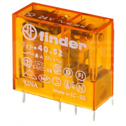 Przekaźnik miniaturowy 2P 8A 230V 40.52.8.230.0000