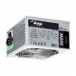Zasilacz ATX 500W FAN-12cm PCI-E AK-B1-500 Akyga