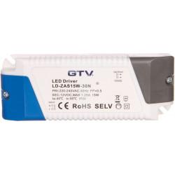 Zasilacz LED 12V 15W LD-ZAS15W-30N GTV