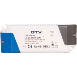 Zasilacz LED 12V 12W LD-ZAS12W-30N GTV