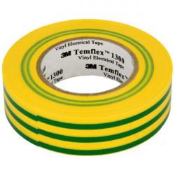 Taśma izolacyjna 19x20/18x20 TEMFLEX żółto-zielony