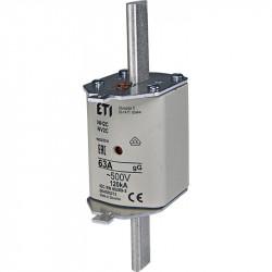 Wkładka bezpiecz. 63A NH2C gG WT-2C 500V ETI