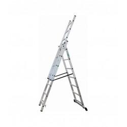 Drabina aluminiowa 3-elementowa 5,3m 3x9 S-40557 STALCO