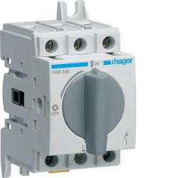 Rozłącznik izolacyjny 3P 63A HAB306 Hager