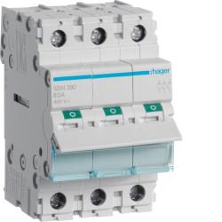 Rozłącznik izlacyjny SBN390 Hager 3P 100A