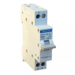 Przełącznik wyboru sieć-agregat 1P 63A SVK1-63 TRACON