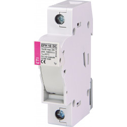 Rozłącznik bezpiecznikowy cylindryczny 1P 25A 1000VDC EFH10 ETI