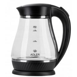 Czajnik elektryczny szklany AD 1274 1,7L 2200W Adler