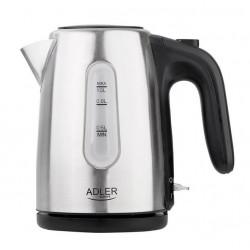 Czajnik elektryczny AD1273 1200W inox 1L Adler
