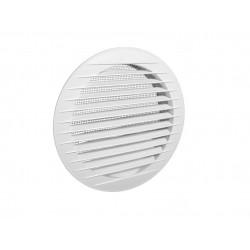 Kratka wentylacyjna okrągła KRO 125 biała Dospel